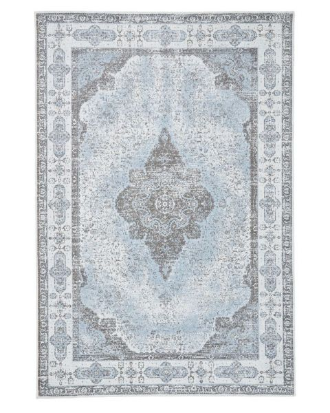 Karpet Lerna 240x160 azuurblauw