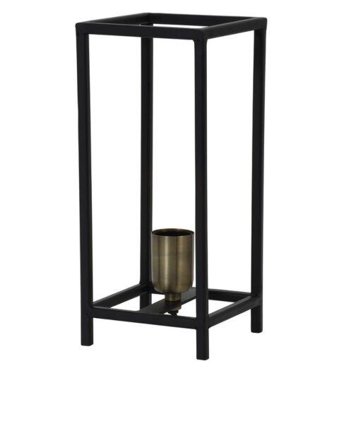 Tafellamp Malox mat zwart