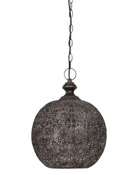 Hanglamp Paltamo bruin goud