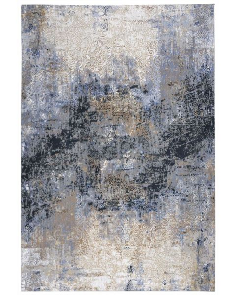 Vloerkleed Mankato Blauw 290x190