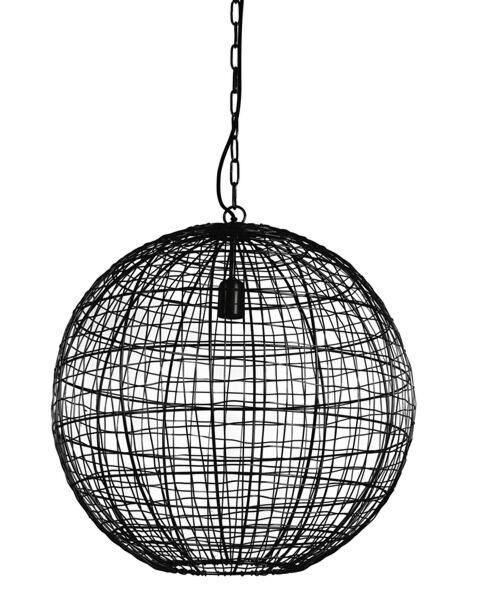 Hanglamp Clairmont mat zwart