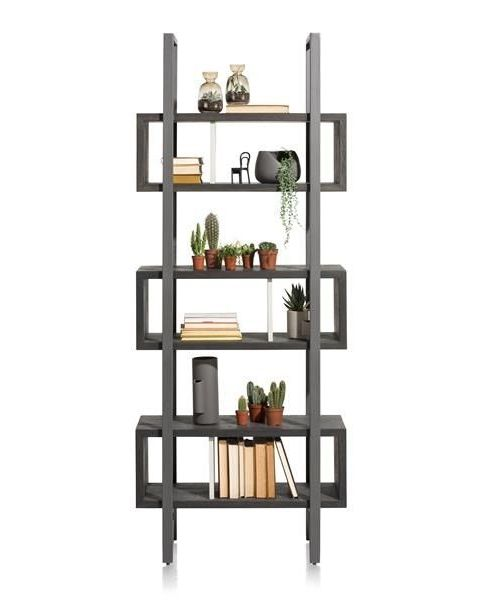 Montpellier, Boekenkast 80 Cm - 6-Niches