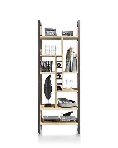 Metalo, Roomdivider 75 Cm. - 8-Niches + 6-Wijnvakken