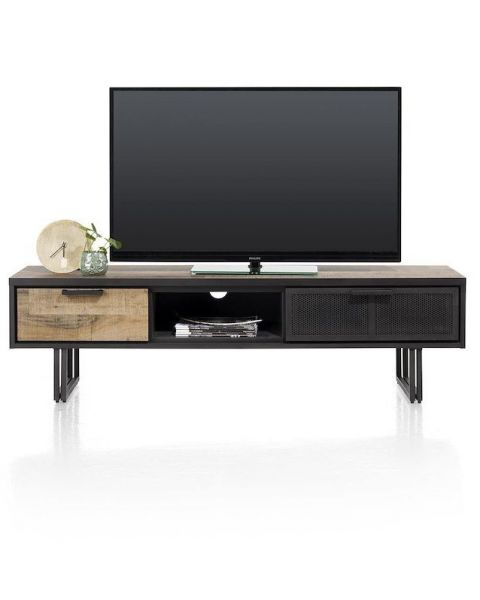 Avalon, Tv-Dressoir 160 Cm. - 2-Laden + 1-Niche