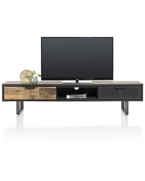 Avalon, Tv-Dressoir 200 Cm. - 2-Laden + 1-Niche