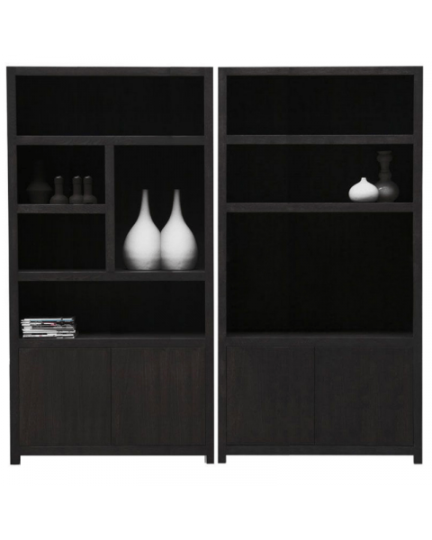 Diamond Boekenkast Set TV Kast + 5 Vaks 120cm