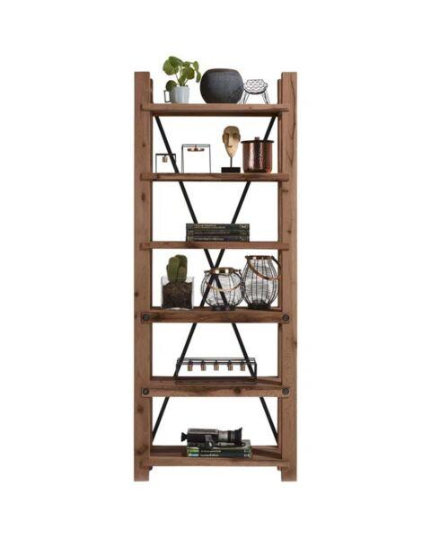 Maitre, Boekenkast 75 Cm - 6-Planken Bruin