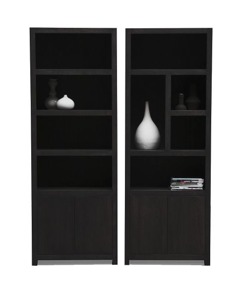Diamond Boekenkast 5 Vaks 80cm Links